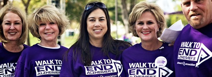 Share a picture of your loved one, your family or your team and tell us why you're participating in Walk to End Alzheimer's.
