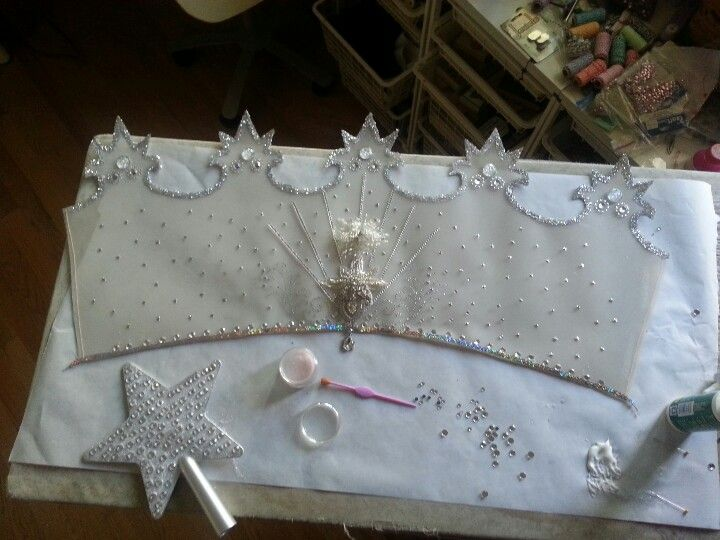 Glinda the Good Witch's Crown. a work in progress