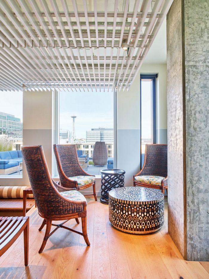 Tommy Bahama Headquarters Seattle Architect Design Office Designs Floor Lamp