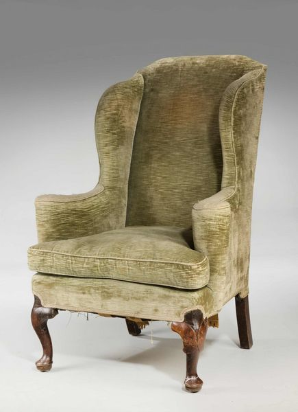 George II Period Walnut Framed Wing Chair. Ref 307 Windsor House Antiques