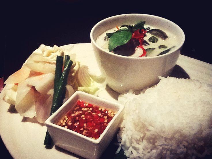 Thai Chicken Curry @ Anantara Seminyak