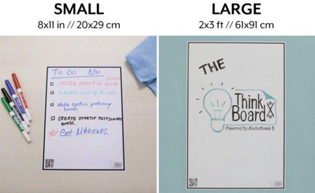 Rocketbook And Think Board Team Up On Kickstarter For A Rocketbook