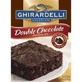 Ghirardelli Brownie Mix.