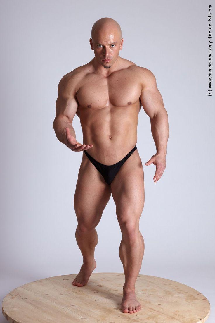 nude male bodybuilding poses