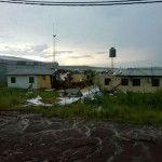 Fuerte temporal de agua y viento azotó a la provincia de Misiones