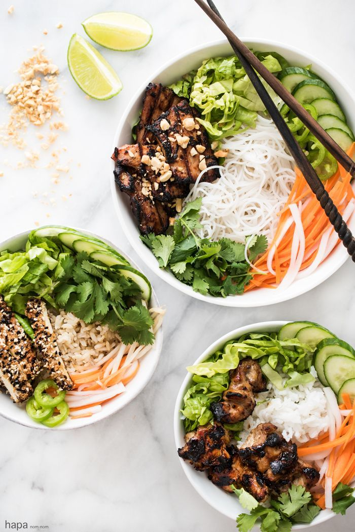 Got a family get-together? Hosting a sports gathering or holiday party? Have guests with diet restrictions? Build Your Own Bowl has got you covered! @hapanom