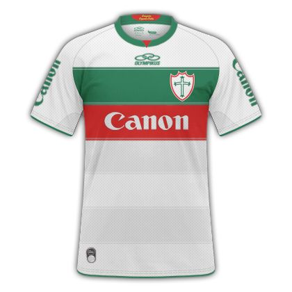Camisas criadas para a 2ª Fase da Super Copa de Mockups do site RdF Sports  HOME  AWAY THIRD
