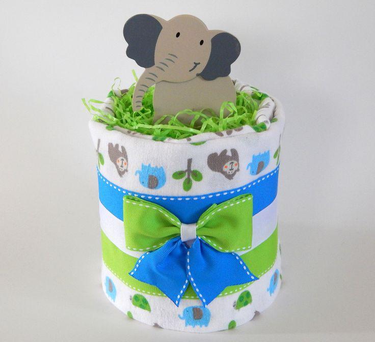 25+ Best Ideas About Jungle Diaper Cakes On Pinterest