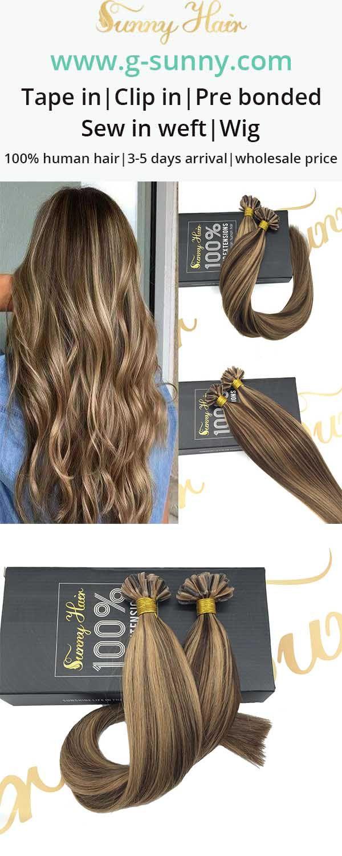 57 Best Sunny Hair U Tip Human Hair Extensons Salon Quality Images