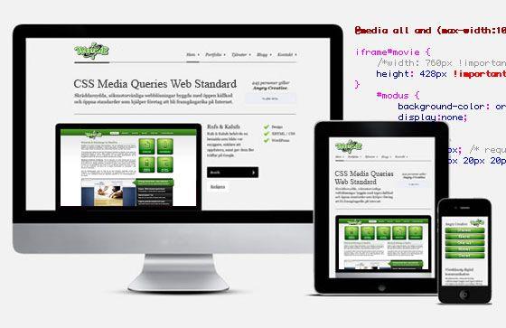 W3C, de groep verantwoordelijke voor het gebruik van webstandaarden heeft recent CSS Media Queries officieel tot de lijst van standaarden verheven.    Media Queries vormen een hoeksteen voor het gebruik van Responsive Webdesign en laten ontwikkelaars toe de lay-out van een pagina aan te passen alvorens deze naar de printer gestuurd worden.