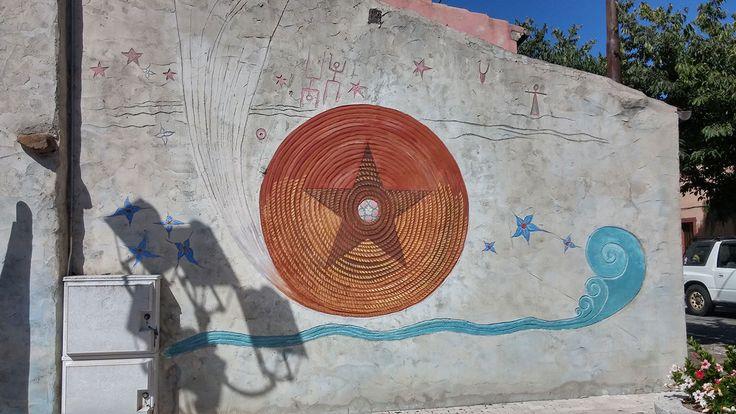 Tinnura - murale di Pina Monne
