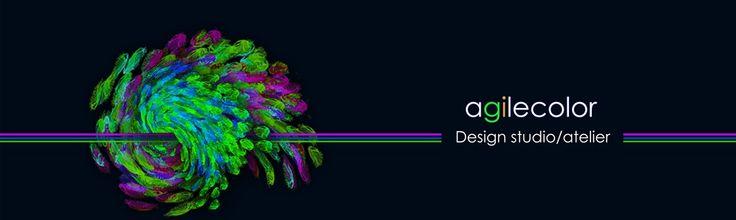 agilecolor design studio/atelier logo-banner
