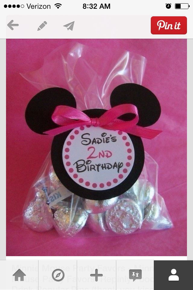Mini mouse favors