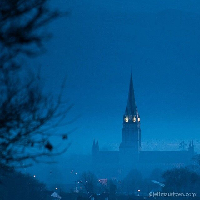 """A cold winter fog settles over #Killarney, Ireland. Photo by @jeffmauritzen."""