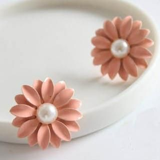 Beaded Flower Studs from #YesStyle <3 Cuteberry YesStyle.com