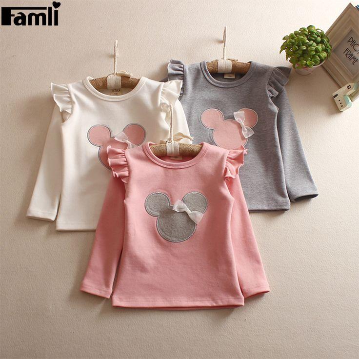 $8.93 (Buy here: https://alitems.com/g/1e8d114494ebda23ff8b16525dc3e8/?i=5&ulp=https%3A%2F%2Fwww.aliexpress.com%2Fitem%2FFamli-Infant-Girls-Cute-T-Shirt-2017-Baby-Girls-Autumn-Long-Ruffle-Sleeved-Cartoon-Shirt-Kids%2F32739587772.html ) Famli Infant Girls Cute T-Shirt 2017 Baby Girls Autumn Long Ruffle Sleeved Cartoon Shirt Kids Spring Fashion Tee Tops for just $8.93