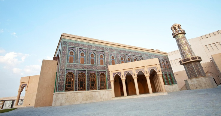Katara Mosque. view on Fb https://www.facebook.com/SinbadsQatarPocketGuide  credit: katara #qatar