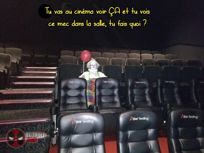 """Tu vas au cinéma voir """"ça""""... - Be-troll - vidéos humour, actualité insolite"""