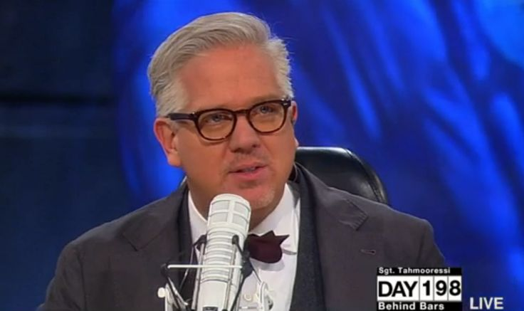Glenn Beck Reveals Four of His Employees Live in Same Complex as Ebola-Positive Patient-- And He Has a Question for the CDC October 15, 2014. (Photo: TheBlaze TV)