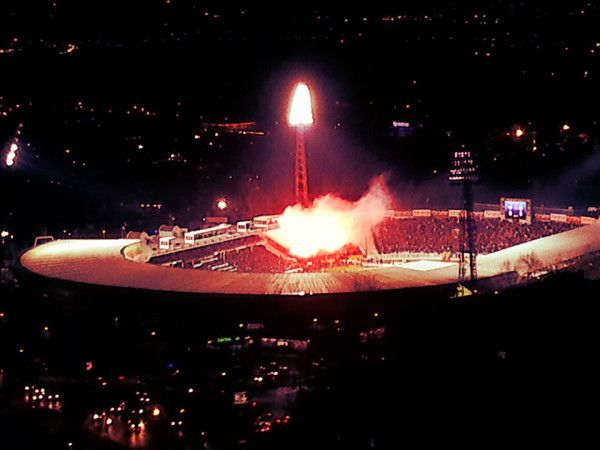 # Galatasaray #ultrAslan #away #pyro ultraslan pyro show away bursaspor
