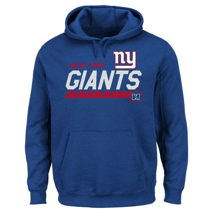 New York Giants Men's Big & Tall Team Pride Fleece Pullover Hoodie Sweatshirt - 2XL Tall