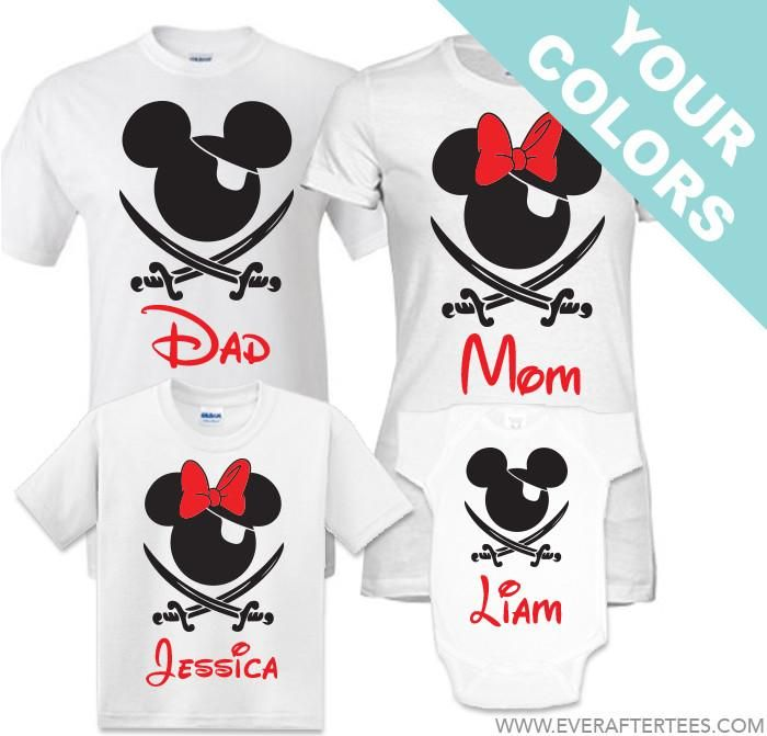 Disney Pirate Shirt . Disney Family Shirts . Disney Cruise Pirate Night Shirts . Disney Cruise Family Shirts