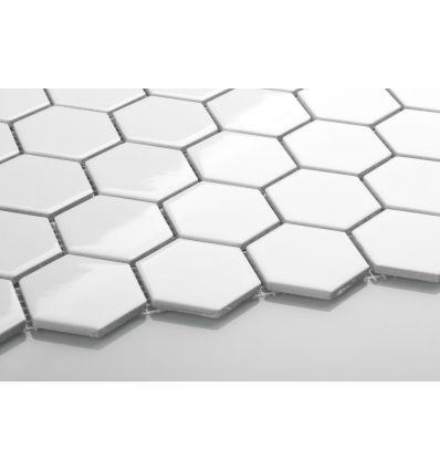 heksagonalna biala plytka w pieknych aranzacjach kuchni ilazienki
