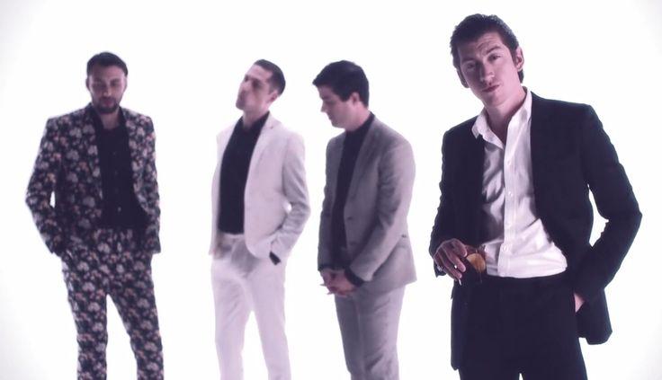 Alex Turner with Mini Mansions in Vertigo Video.