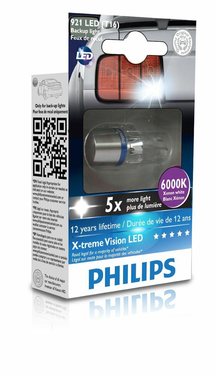 Philips 12832x1 white t16 led exterior bulb
