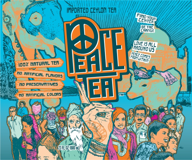 Does peace tea have caffeine in it