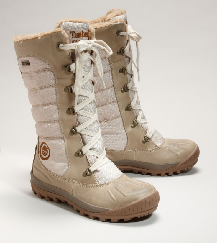 Timberland Winter boots I have these and black as well! Cozy and warm
