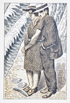 Image result for Gilbert Spencer Three Things by W. B. Yeats, drawings by Gilbert Spencer