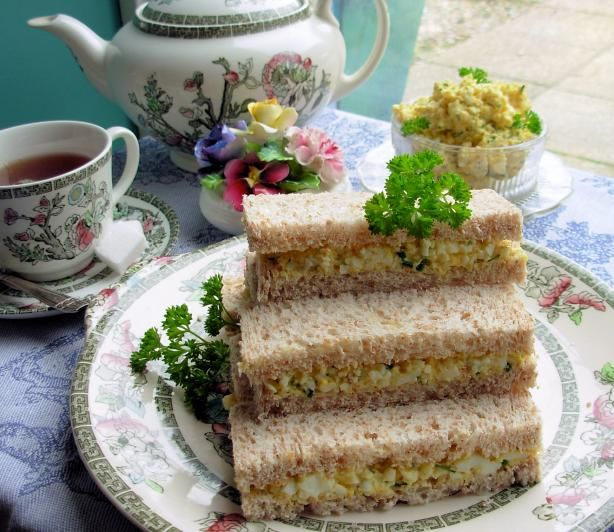 17 best images about tea sweets and savories on pinterest for Club sandwich fillings for high tea