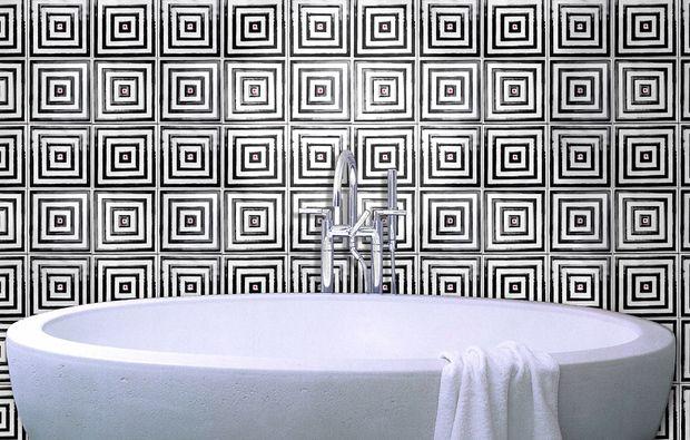 Oltre 25 fantastiche idee su piastrelle geometriche su - Piastrelle bianche 30x30 ...