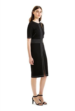 Profile Stitch Dress