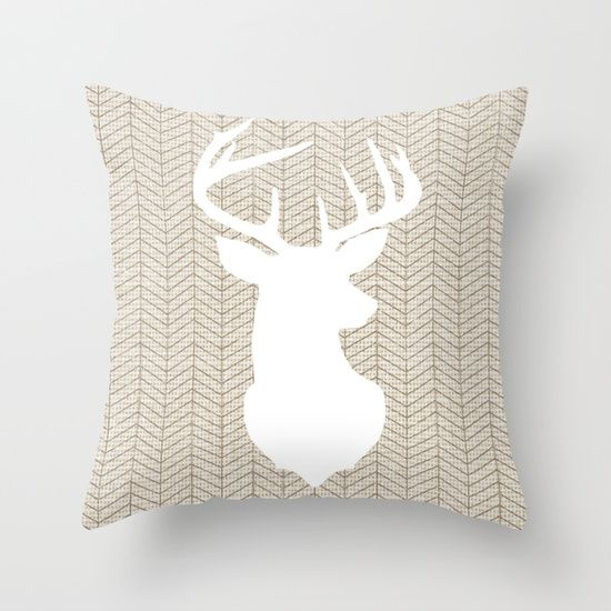 Tribal Linen with Herringbone // Stag | Lily and Vine