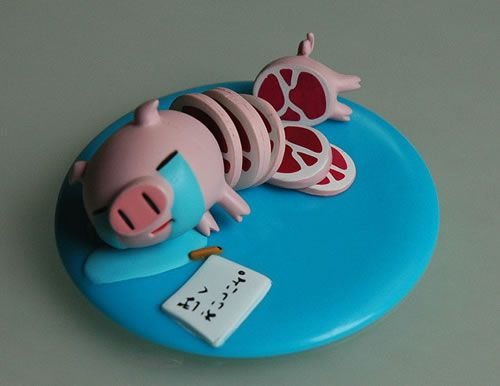 Suicide Pig by Mori Chack