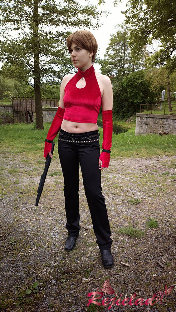 Rebecca Chambers Resident Evil / Biohazard 0 Zero alternate leather cosplay I by Rejiclad