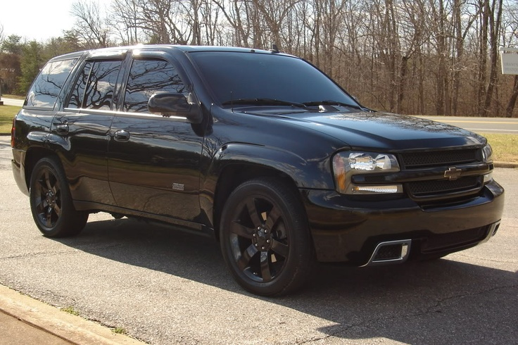 TrailBlazer SS Newest Mod - Black Chrome Wheels - LS2 Forums - Looks Like My car without the SS on the side!!