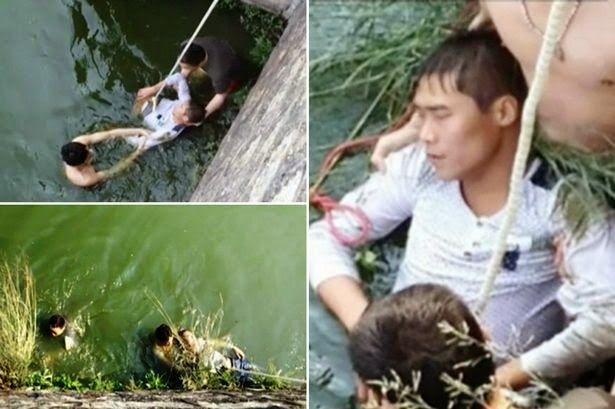Η.W.N.: Γαμπρός προσπάθησε να πνιγεί στο ποτάμι όταν συνάντησε την «άσχημη νύφη» για πρώτη φορά!