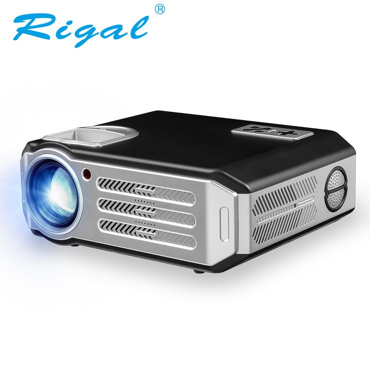 Rigal RD817 Android LED Proyector 3500 Lúmenes WIFI Inteligente Proyector Full HD 1080 P de Video HDMI USB Projetor TV Home Theater Beamer