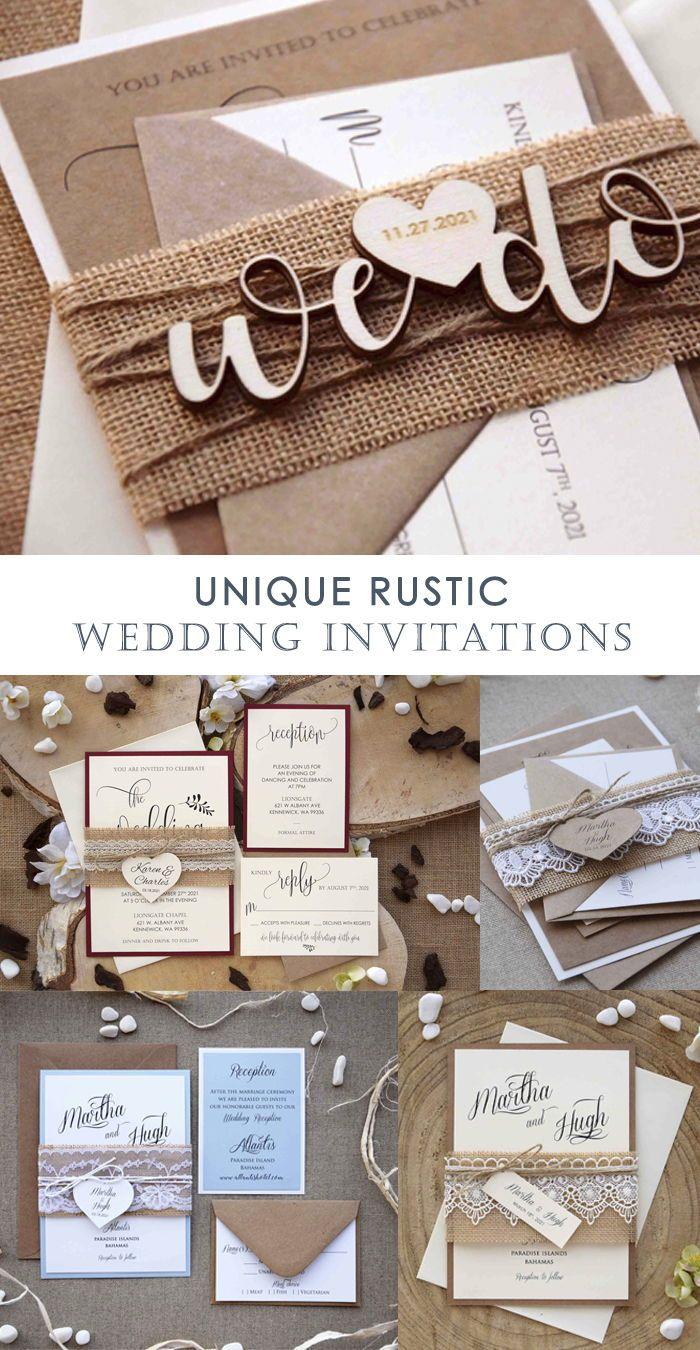 Rustic Wedding Invitations Archives Paperstudiobyc Unique Rustic Wedding Invitations Unique Wedding Invitations Wedding Invitations Rustic
