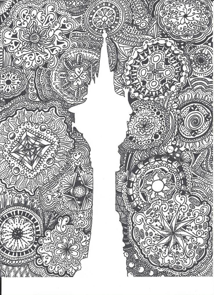 Disney Zentangle Coloring Pages : Images about art on pinterest disney zentangle