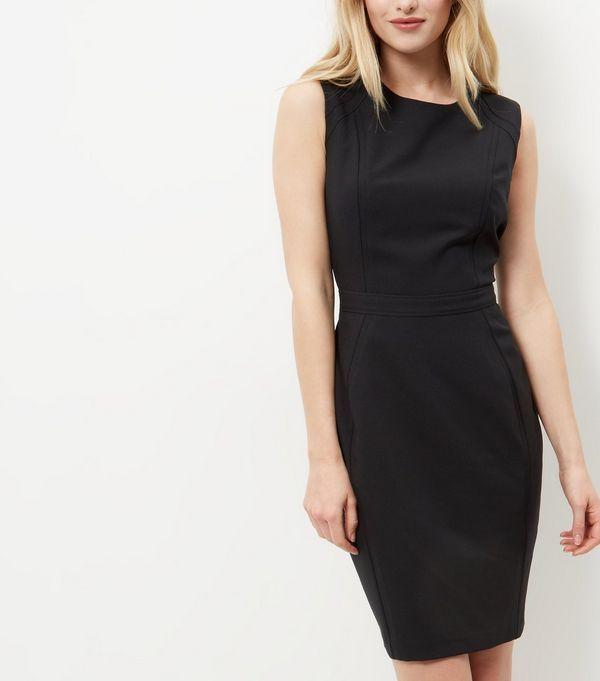 Black Pencil Dress  | New Look