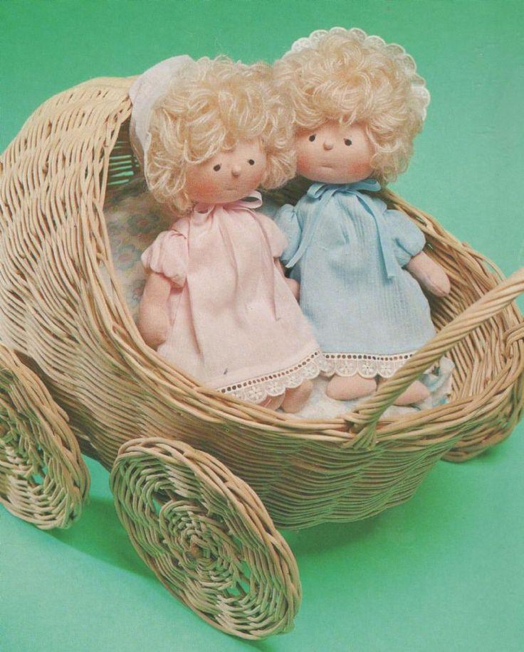 UK Freepost PRINTED Vintage Sewing Pattern Baby Twins