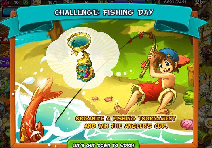 Challenge: Fishing Day http://wp.me/p4gCBu-pe #newrockcity