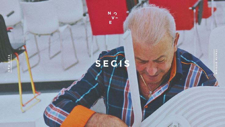 Franco Dominici, Segis founder, explains the name of the company, how a chair comes out from an idea and the professional relationship between #Segis and its #designers. Many #awards and always a great passion.