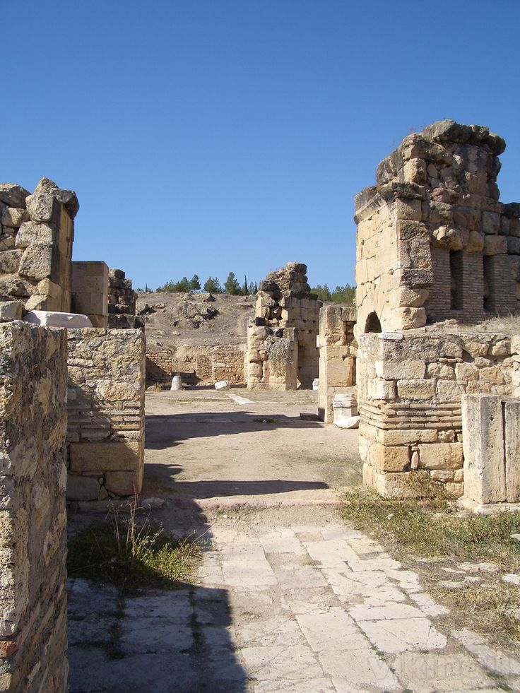 Martyrium of St Philip the Apostle, Hierápolis