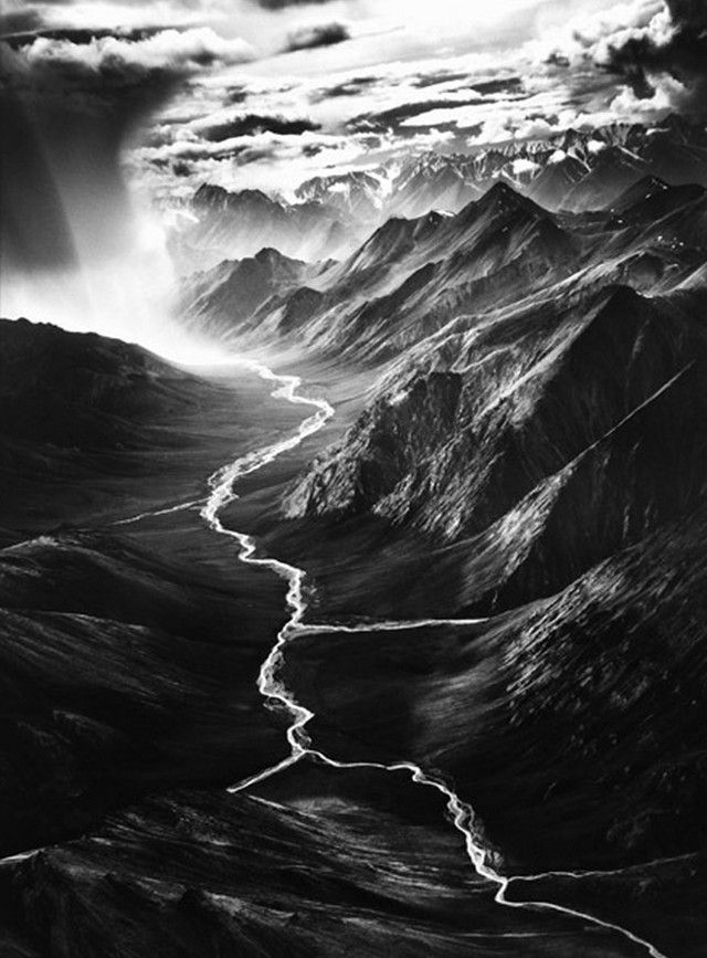 Sebastião Salgado photo - The Eastern Part of the Brooks Range - the arctic national wildlife range, Alaska 2009.