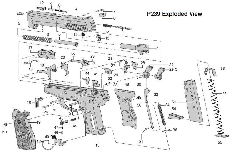 66 Best Diagramas De Armas Images On Pinterest Hand Guns